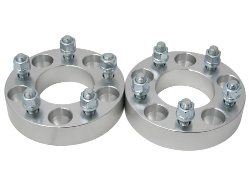 """4pc - 32mm (1.25"""") 5x110 to 5x100 Wheel Adapters/Spacers - for Chevy Pontiac Saturn Vehicles"""