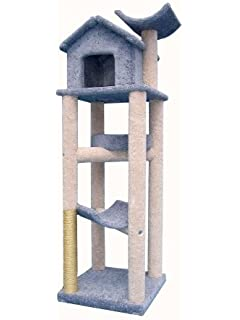 Molly And Friends Tree House Cat Tree   76 In.