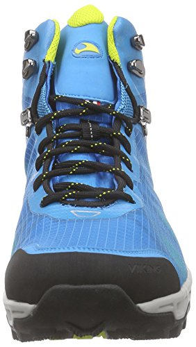 Viking Kuling Mid Gtx Lord Trekking- & Wanderstiefel Blau (blu / Giallo 3513)