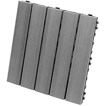 Pack of 10 Cedar EON 12x12 Deck and Balcony Tiles