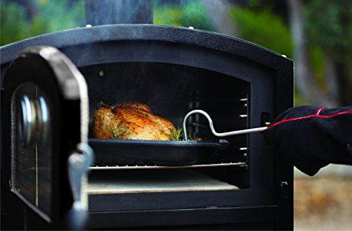 Alfresco Home 82-1004 Fornetto Alto Wood Fired Oven & Smoker for Built-In Use, Brick by Alfresco Home (Image #3)