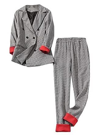 BingSai - Conjunto de 2 Piezas de Pantalones de chándal para Mujer ...