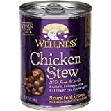 Wellness Chicken Stew with Peas and Carrots Canned Dog Food, My Pet Supplies