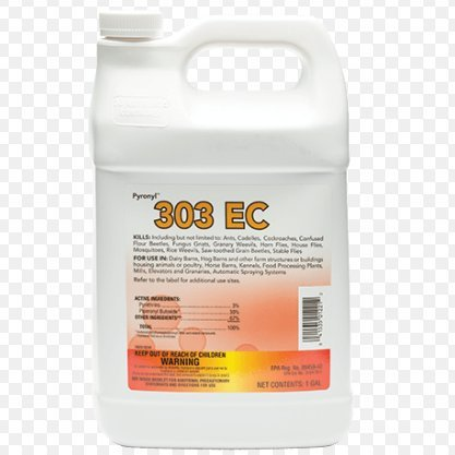 EC 128oz- Pyrethrin Fogging Insecticide (Ornamental Fogger)
