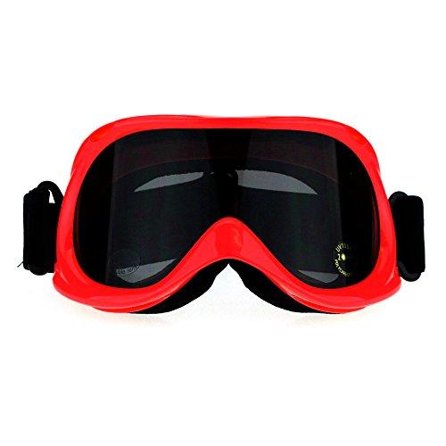 SA106 Aerodynamic Anti Fog Lens Foam Pad Snowboard Ski Goggle Coral - Ski For Goggles Women Sunglasses