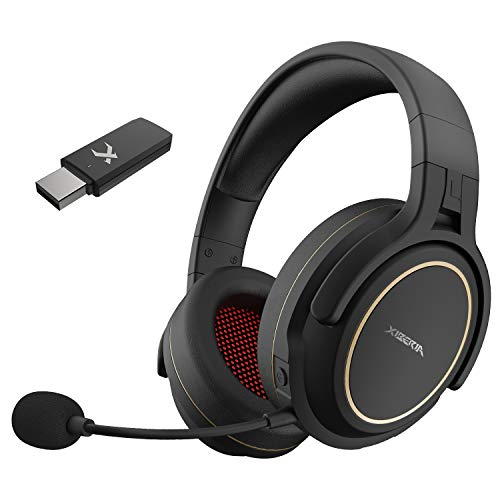 NUBWO 2.4G Wireless Gaming Headset for PC, PS5, PS4, with Noise Cancelling Microphone Gaming Headphones for Laptop, MAC…