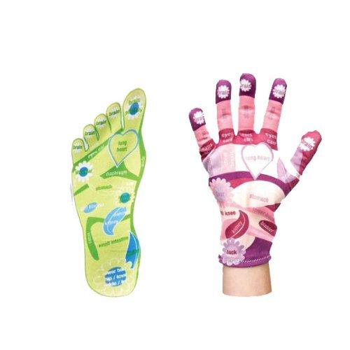 Spa Сестра Рефлексология Носки и перчатки указан