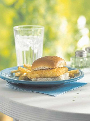 - Seafood Sliders Mini Breaded Square Alaska Pollock, 1.6 Ounce of 86-119 Pieces, 10 Pound - 1 each.