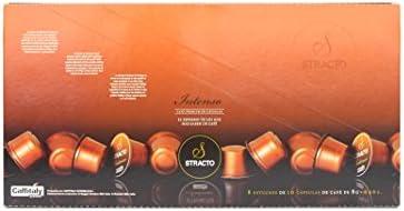 Stracto Intenso - Cápsulas de Café - Estuche 80 Unidades: Amazon.es: Alimentación y bebidas