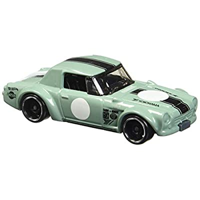 Hot Wheels 2020 Legends of Speed Datsun Fairlady 2000 118/365, Pale Green: Toys & Games