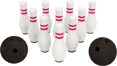 Trademark Innovations Foam Bowling Set -