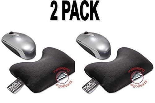 Imak A10165 Wrist Cushion - Black Pack of 2 (Keyboard Imak)