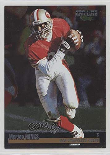 Merton Hanks #/575 (Football Card) 1995 Classic Pro Line - [Base] - Silver 16th National Sports Collectors Convention #164