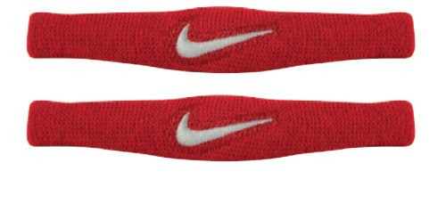 Nike Dri Fit Bands Pair (Red/White, Osfm)