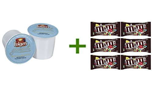 Folgers Gourmet Selections K-Cups 3.81 oz(2 PACK),M&M MILK CHOCOLATE 6/1.69oz (Folgers K Cups Breakfast Blend compare prices)