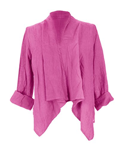 Generic - Chaqueta - para mujer rosa cereza