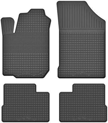 Ko Rubbermat Gummimatten Fußmatten 1 5 Cm Rand Geeignet Zur Hyundai I10 Ii Bj 2013 2018 Ideal Angepasst 4 Teile Ein Set Auto
