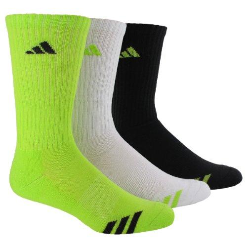 adidas Boy's Striped Crew Sock (3-Pack)