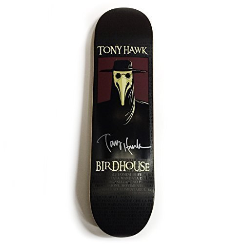 (Tony Hawk Authentic Autographed Birdhouse Skateboard Deck)