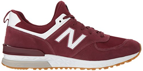 Balance New 574s bordeaux Herentrainers wit klassiek UZZx7F