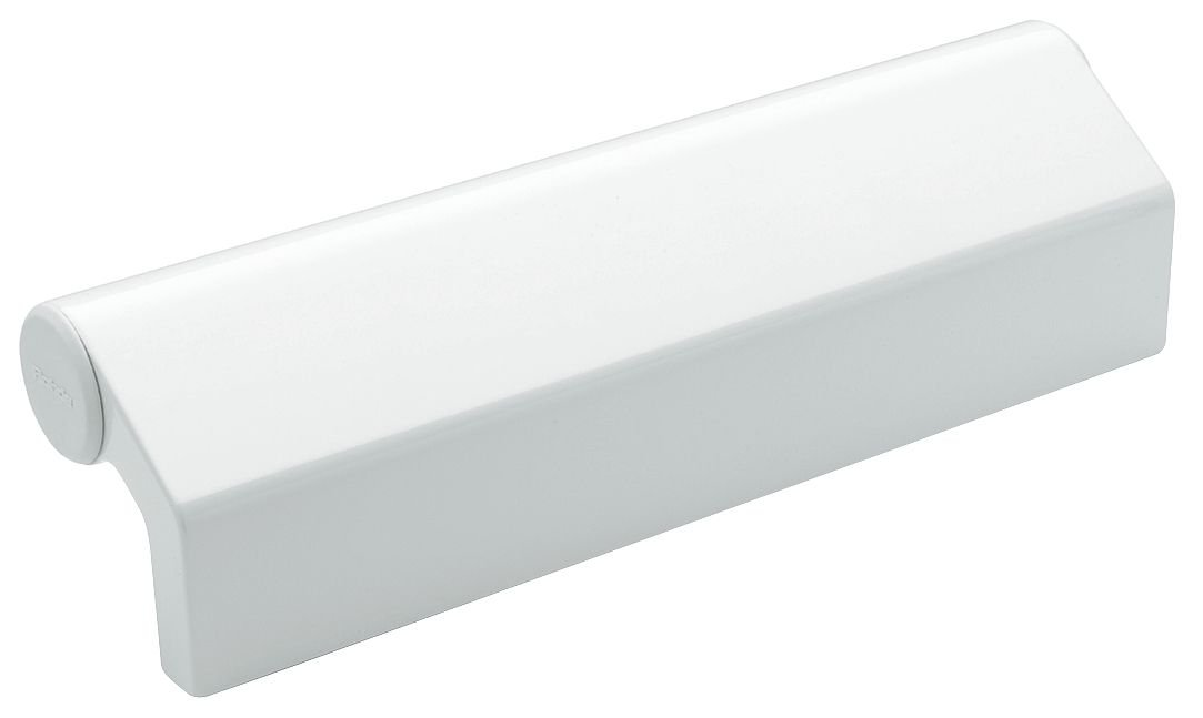 Elesa - RHW3-33.210.9002 - Aluminum Pull Handle with Painted Finish, RAL 9002 White; Hardware Included