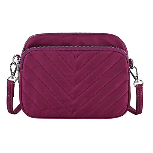 Rakkiss Fashion Ladies Nylon Shoulder Bag Large Capacity Mummy Bag Messenger Bag