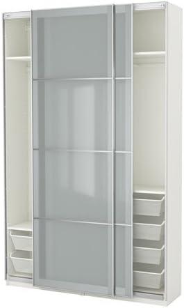 Ikea Armario, Blanco, Cristal Esmerilado Sekken 10386.8268.62: Amazon.es: Juguetes y juegos