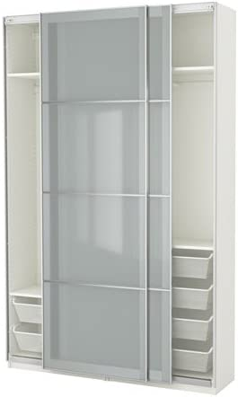 armario puertas de cristal ikea