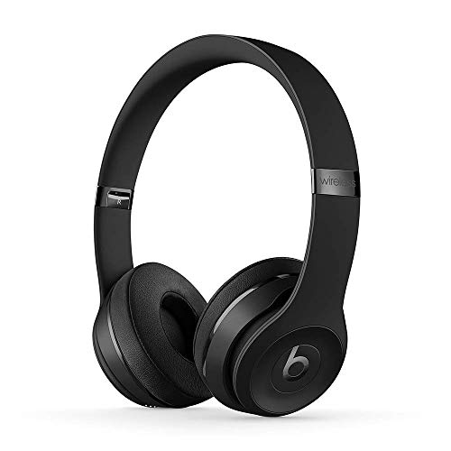 Beats Solo3 Wireless On-Ear Headphones - Black (Latest Model)