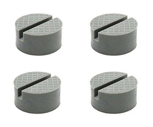 4 Pack Polyurethane Universal Medium Size Slotted Jack Pad Frame Rail (Jacking Pad)