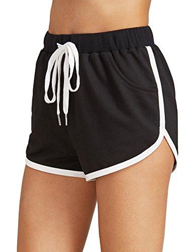 SweatyRocks Womens Workout Yoga Hot Shorts Sports Pants