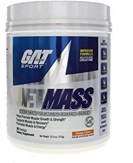 GAT Jetmass 100% Chance Of Gains with Great Taste, Orange Creme, 1.81 Pound