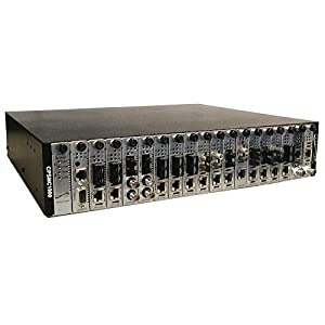 Transition Networks 19-Slot Point System Chassis 48vdc