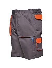 Portwest Mens Contrast Workwear Shorts