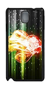 Fashion Style With Digital Art - Cgi Smoke Skid PC Back Cover Case for Samsung Galaxy Note 3 N9000