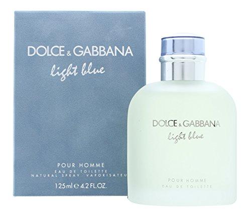 D & G Light Blue By Dolce & Gabbana For Men Eau De Toilette Spray, 4.2-Ounces
