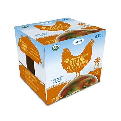 Member's Mark Organic Chicken Broth (32 oz. carton, 6 pk.) (pack of 2)