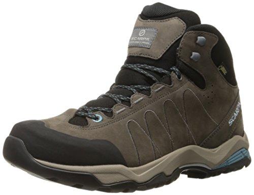 Price comparison product image Scarpa Women's Moraine Plus Mid GTX WMN Hiking Boot, Charcoal/Air, 40 EU/8.5 M US