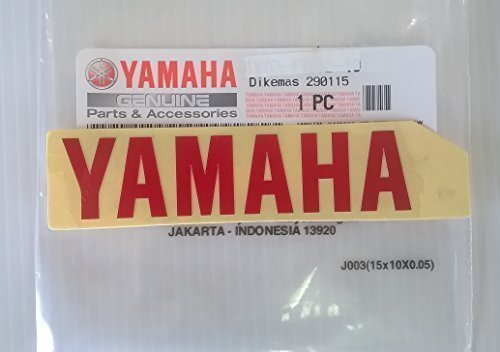 Yamaha 1Wd F153e 10   Genuine Yamaha Decal Sticker Emblem Logo Red Self Adhesive Motorcycle   Jet Ski   Atv   Snowmobile