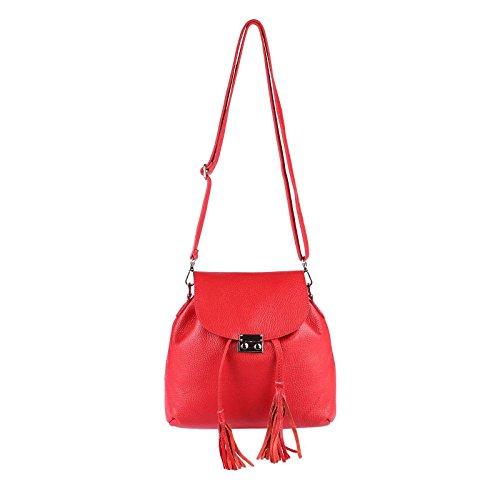32x27x8 Mochila Bolso Ca Only bxhxt couture beautiful Obc Para Azul Rojo Cm Claro Mujer qzItwvw
