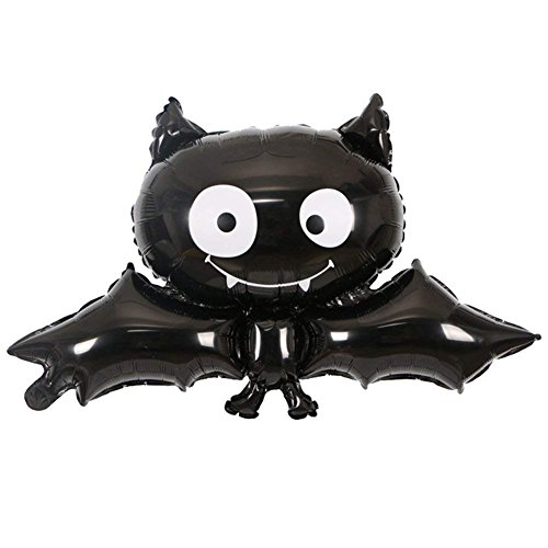 ZIYAN Black Vampire Bats Halloween Foil Balloon Reusable Party Supplies Balloons Home Party Bar Decoration Children Gifts]()