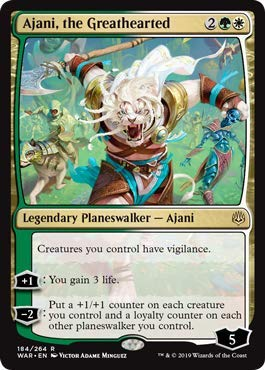 Magic: The Gathering - Ajani, The Greathearted - War of The Spark