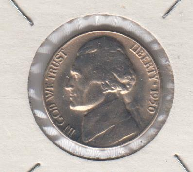 1950 D Jefferson Nickel -Key Coin - Low Mintage Nickel Choice - Nickel Jefferson Mintage