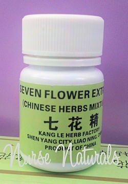 Seven Flower Extract, formule de la médecine traditionnelle chinoise