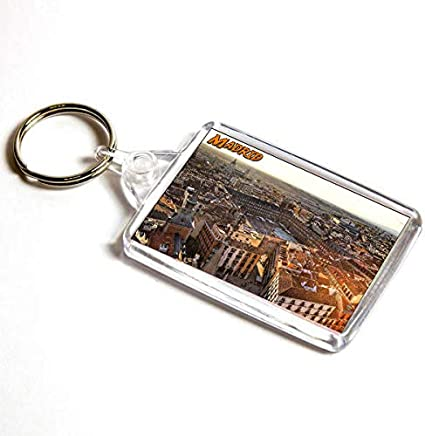 AWS Llavero Madrid España Souvenir Espana Key Ring de PVC Gadget ...