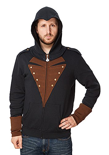 Arno Assassin's Creed Costume (Assassin's Creed Arno Adult Costume Hoodie X-Large)
