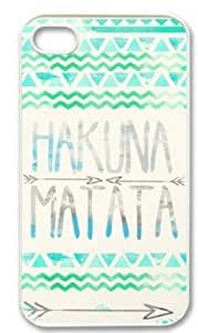 International Market Trading? Create Hakuna Matata Custom Hard Case for Iphone 6 4.7 Inch Verizon T-Mobile AT&T Sprint Mobile Wireless +with one random color Hair Ties by mcsharks