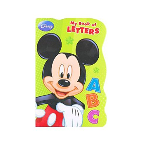 Disney Mickey Mouse Board Book - My Book of Letters