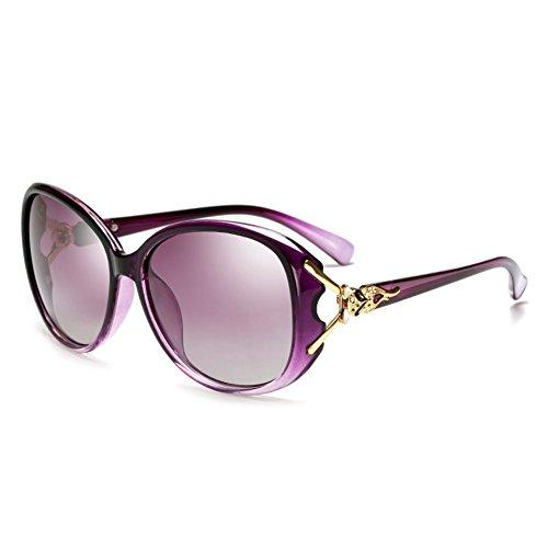 de de Sol Masculino Caja Redonda de Espejo DT 4 de Gafas Vintage Sol Gran Conductor Gafas Gafas 1 Sol Conducción Cara Color de qwIEUEv