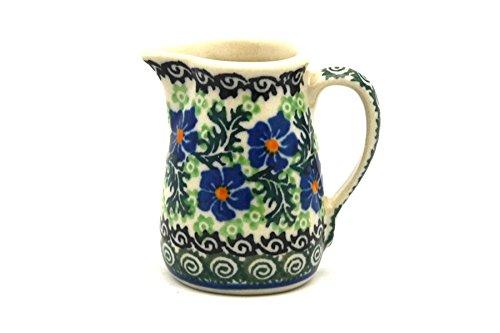 Polish Pottery Miniature Pitcher - Sweet (Miniature Pottery Pitcher)
